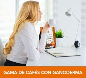 Cafés con ganoderma